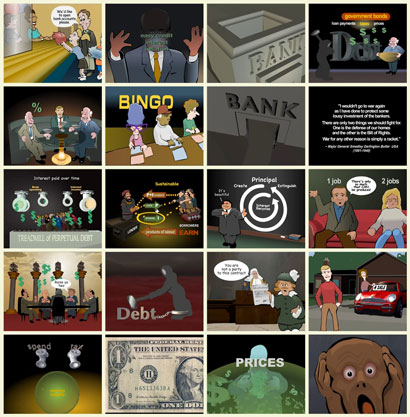 ScreenShot Money As Debt II Promises Unleashed - مستند پول،عامل بدهی 2 وعده های افسارگسیخته