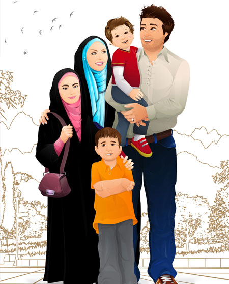 family - تربیت فردی و اجتماعی فرزندان