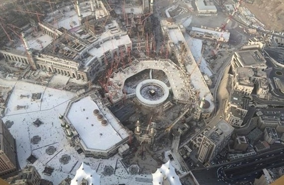 kaabe masjedolharam emam zaman 1 - امام زمان(عج) كعبه و مسجد النبی را خراب می کند