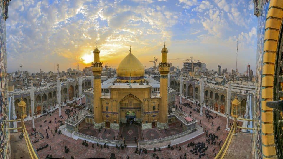 دانلود فیلم خام حرم امام علی(ع)